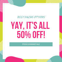 50% OFF Packages