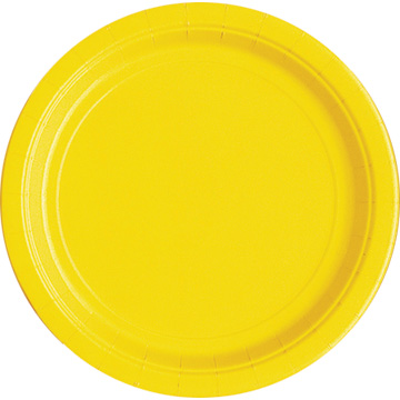 Sunflower Yellow Dinner Plate
