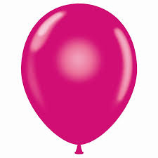 11 Inch Pearl Magenta Latex Balloon