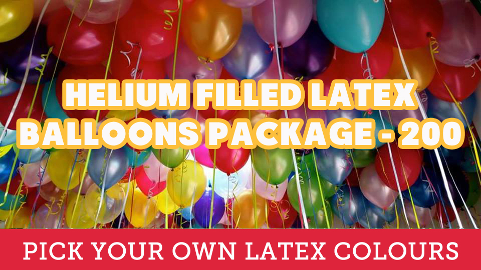 200 Helium Filled Latex!