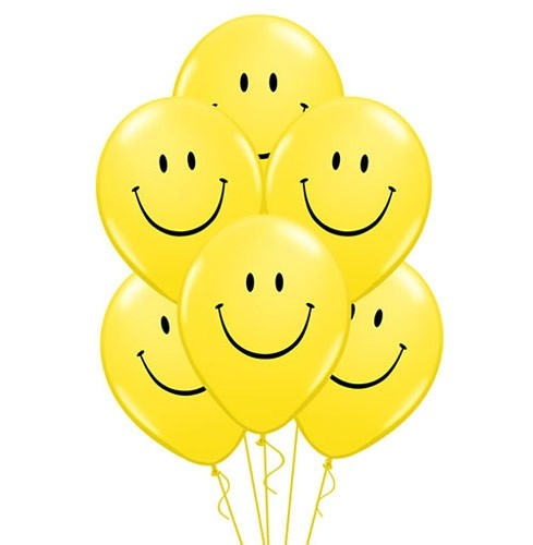 2 x Dozen Smiley Face Balloons!